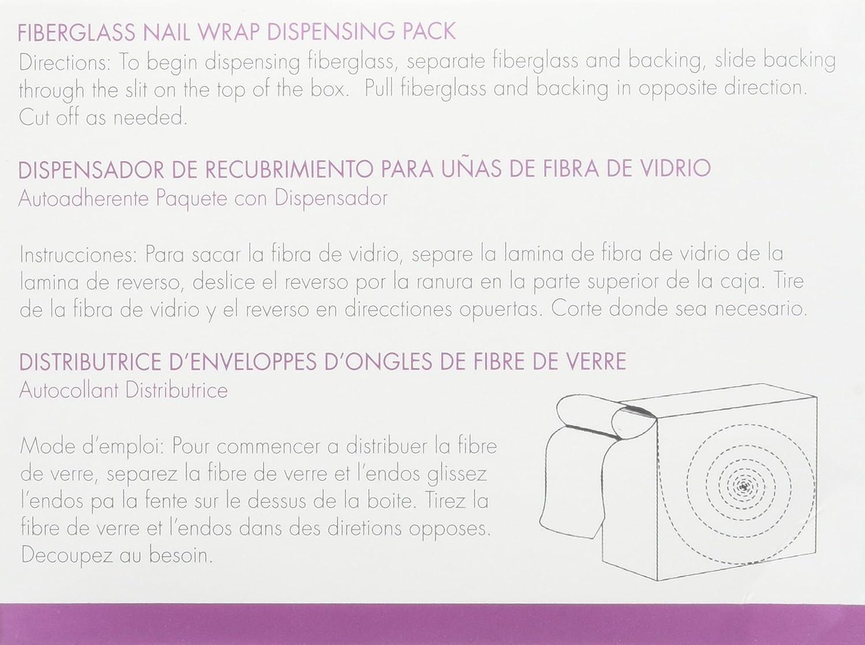 Amazon.com : ASP Fiberglass Nail Wrap : False Nails : Beauty