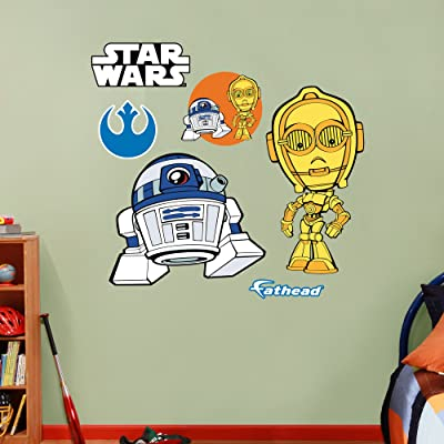 C-3PO & R2-D2 POP Wall decals