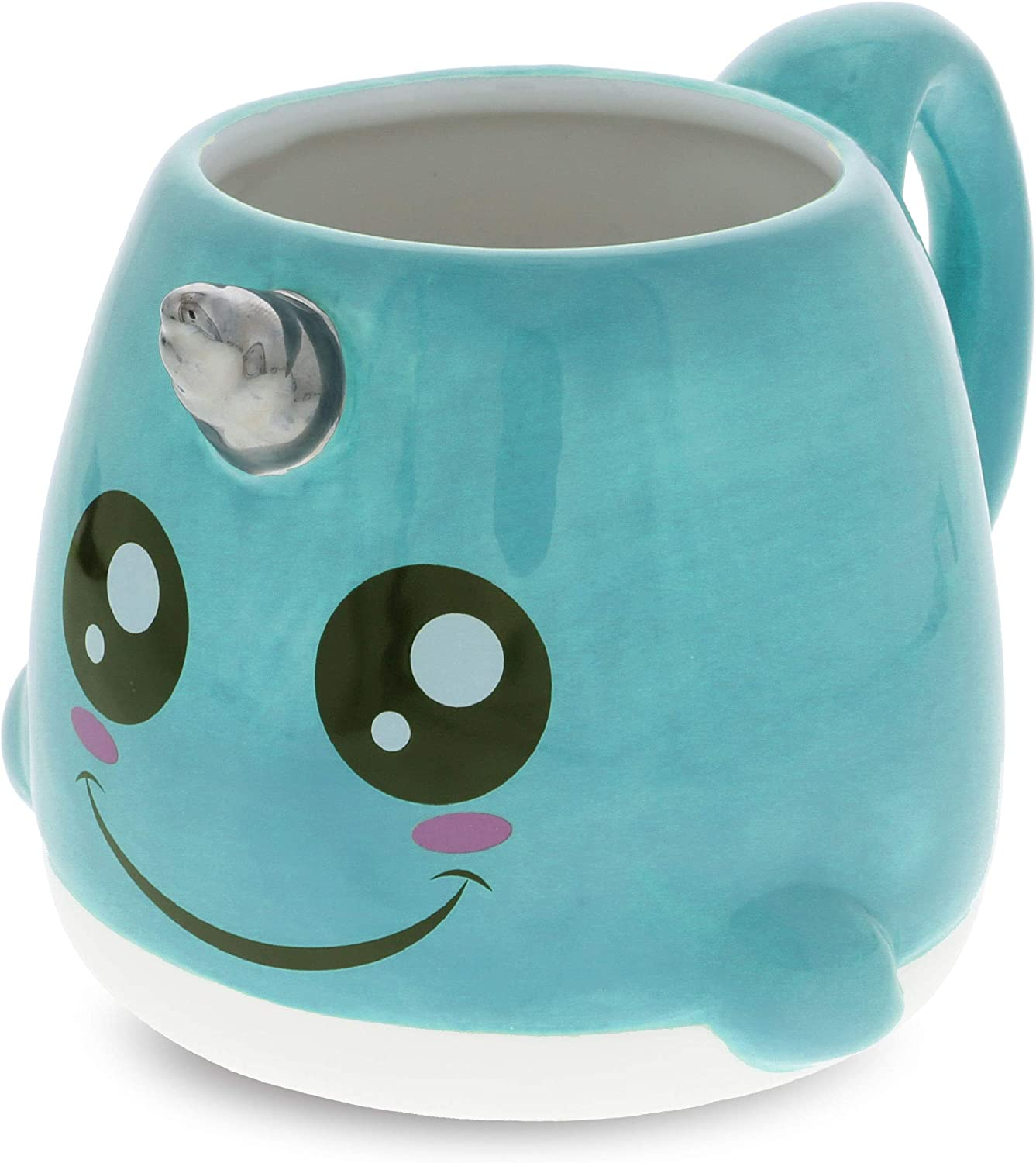 Mugniv Narwhal Sea Unicorn Novelty Mug: Ceramic Cute Coffee Mugs & Tea Cup, Cool & Unique Unicorn Coffee Mug for Coffee Lovers Gifts, Kids Mugs For Hot Chocolate, Narwhal Decor Kitchen Cups - 19.8 Oz