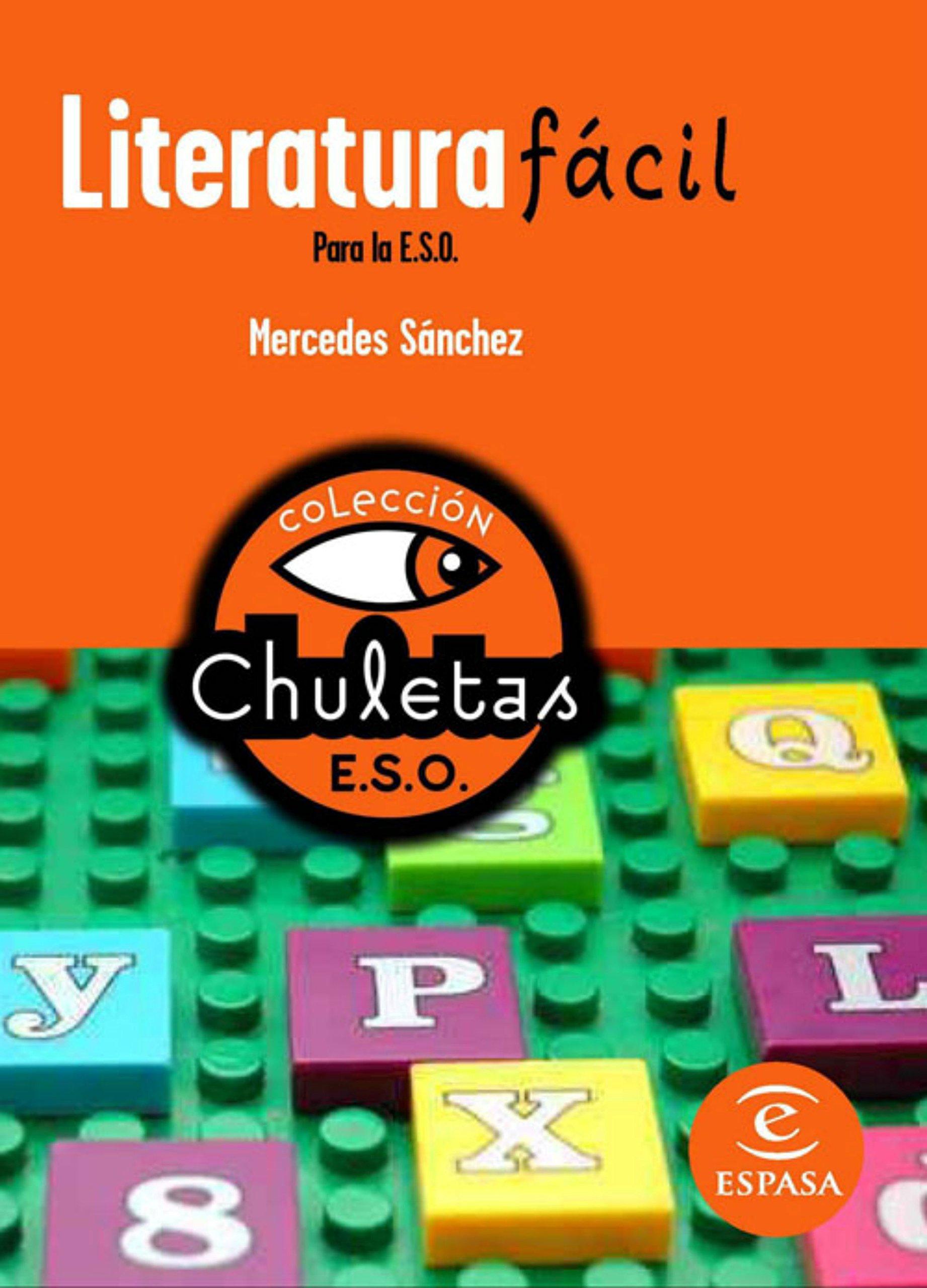 Literatura fácil para la ESO (CHULETAS): Amazon.es: Mercedes Sánchez: Libros