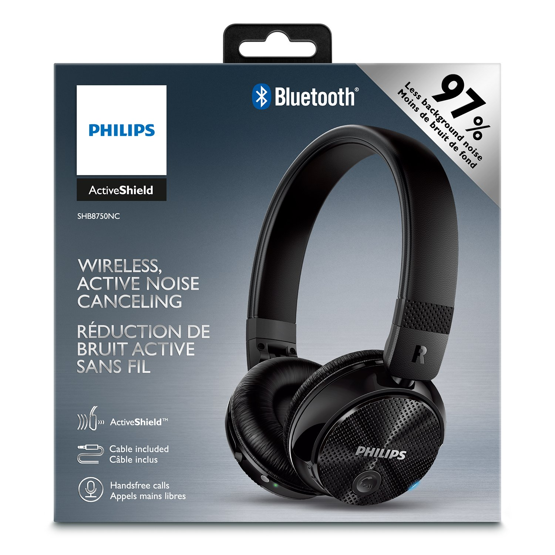 Amazon.com  Philips SHB8750NC 27 Wireless Noise Canceling Headphones ... 8580412f02