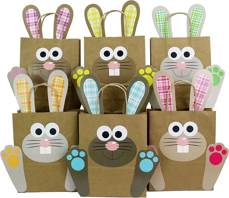 pour emballer Les Cadeaux des Enfants et des Adultes Papierdrachen Sacs-Cadeaux de P/âques /à fabriquer et rempir soi-m/ême