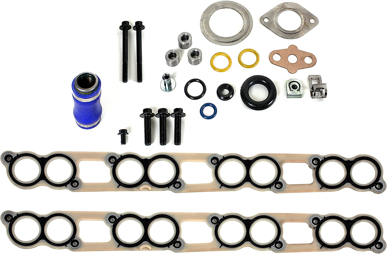 For 03-10 Ford 6.0 6.0L Powerstroke Diesel OEM Fuel Injector Sleeves /& Oring Kit