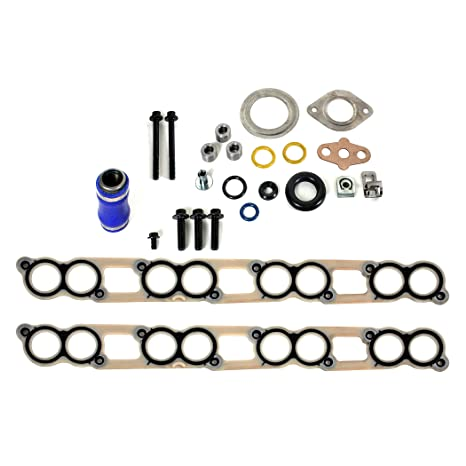 Amazon.com: CNS OCK-300 EGR Cooler Gasket Kit for Ford E-Series / F-Series / Excursion 6.0L (363cid) OHV V8 Power Stroke Diesel Turbo 03-10: Automotive