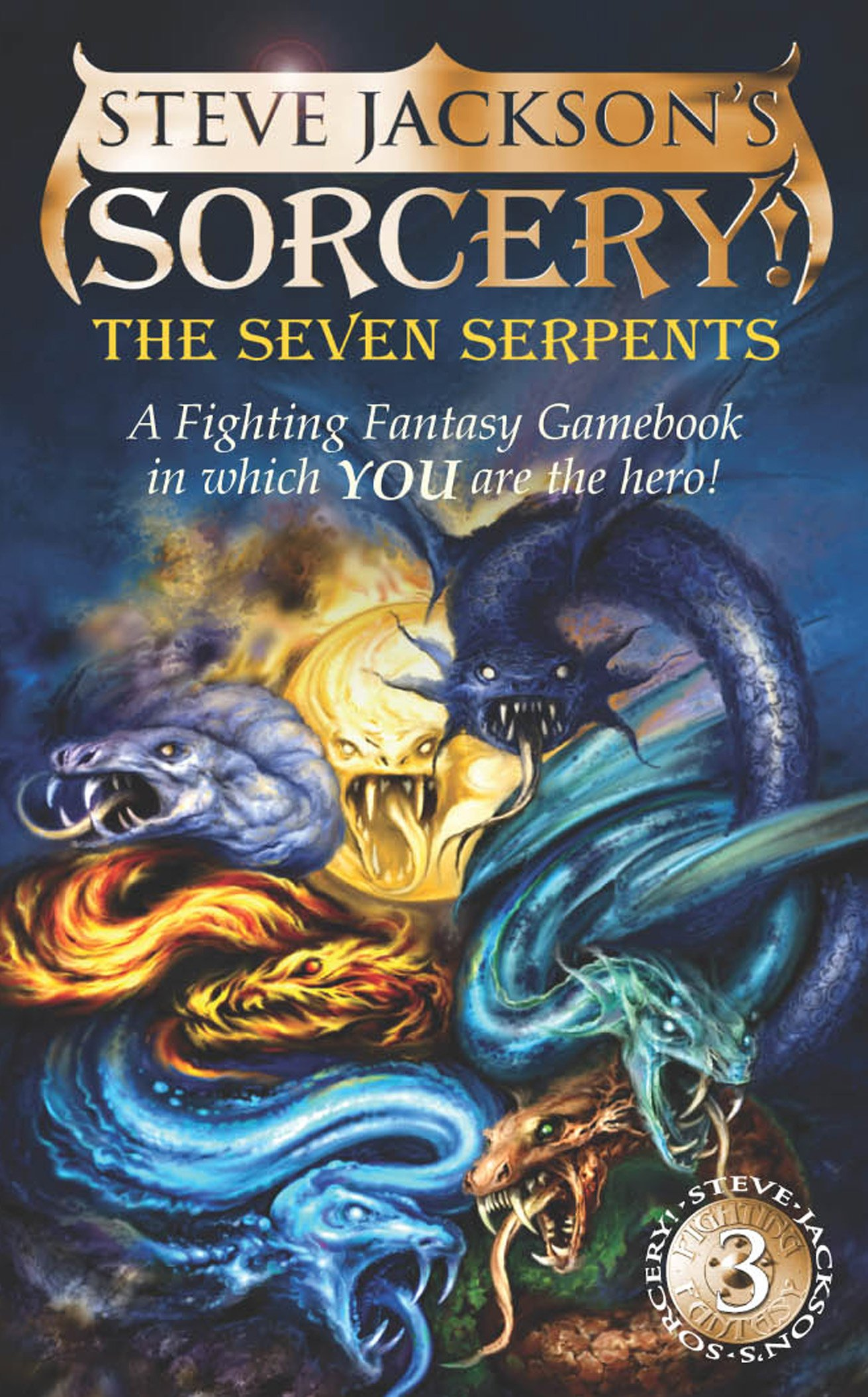 The Seven Serpents (Steve Jackson's Sorcery! Fighting Fantasy, No. 13) PDF