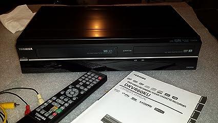 amazon com toshiba dkvr60 dvd vcr player combo electronics rh amazon com