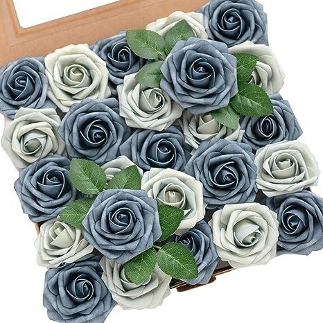 20 Mix Rose Fabric Decorations Party Valentine Wedding Confetti Bloom