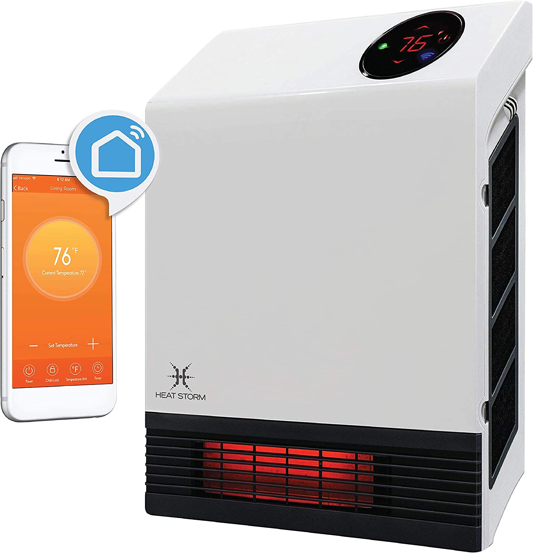 Heat Storm HS-1000-WX-WIFI WiFi Infrared Wall Heater