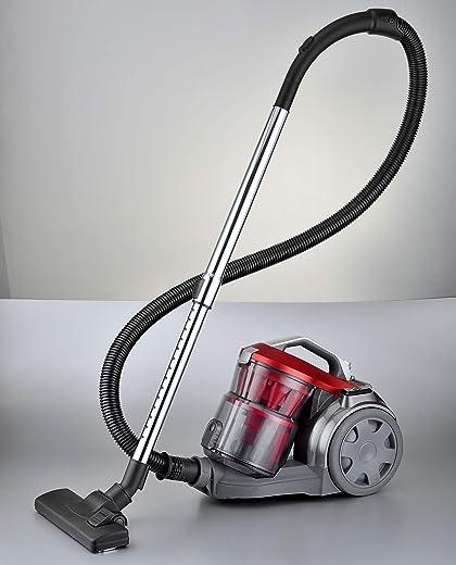 مكنسة كهربائية بتصفية دائمة 2000 واط من بيسات، اللون: احمر