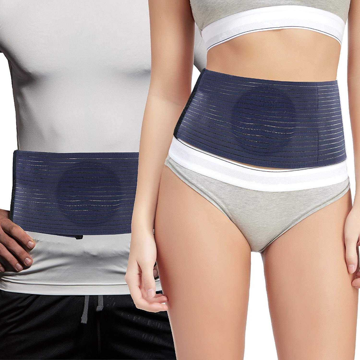 Everyday Medical Umbilical Hernia Belt - for Women and Men – Abdominal Hernia Binder for Belly Button Navel Hernia Support, Helps Relieve Pain - for Incisional, Epigastric, Ventral, Inguinal Hernia