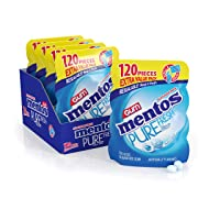 Amazon.com deals on 4-Pack Mentos Pure Fresh Sugar-Free Chewing Gum 120 Piece