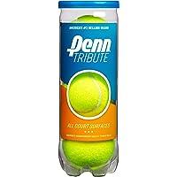 Penn Tribute Tennis Balls - All Courts Felt Pressurized Tennis Ball