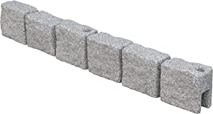 Garden Elements True Form Plastic Flex-Wall Landscape Edging (1, Greystone)
