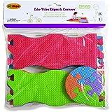 Edushape Edu-Tiles Edges & Corners for Playmats, 16 Piece