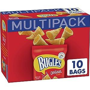 Bugles Original Flavor Crispy Corn Snacks 8.75 oz (Pack of 4)