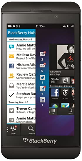 Blackberry Z10 16 Gb, 2Gb Black 4G Lte