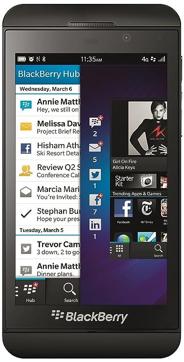 Blackberry Z10 16 Gb, 2Gb Black 4G Lte Smartphones