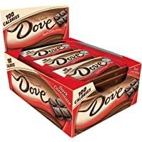 18-Pack Dove 100 Calories Dark Chocolate Candy Bar (0.65-Ounce Bar)