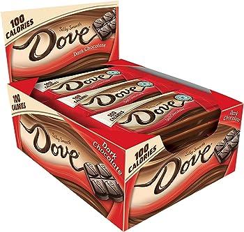 18-Pack Dove 100 Calories Dark Chocolate Candy Bar