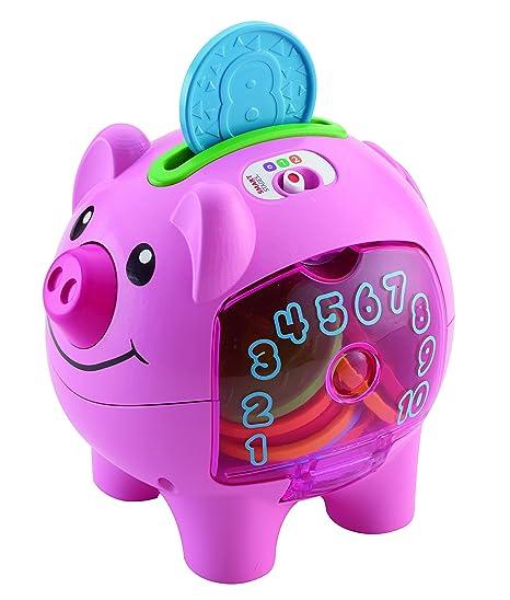 Fisher Price Laugh & Learn Etapas inteligentes Piggy Bank (Inglés Version)