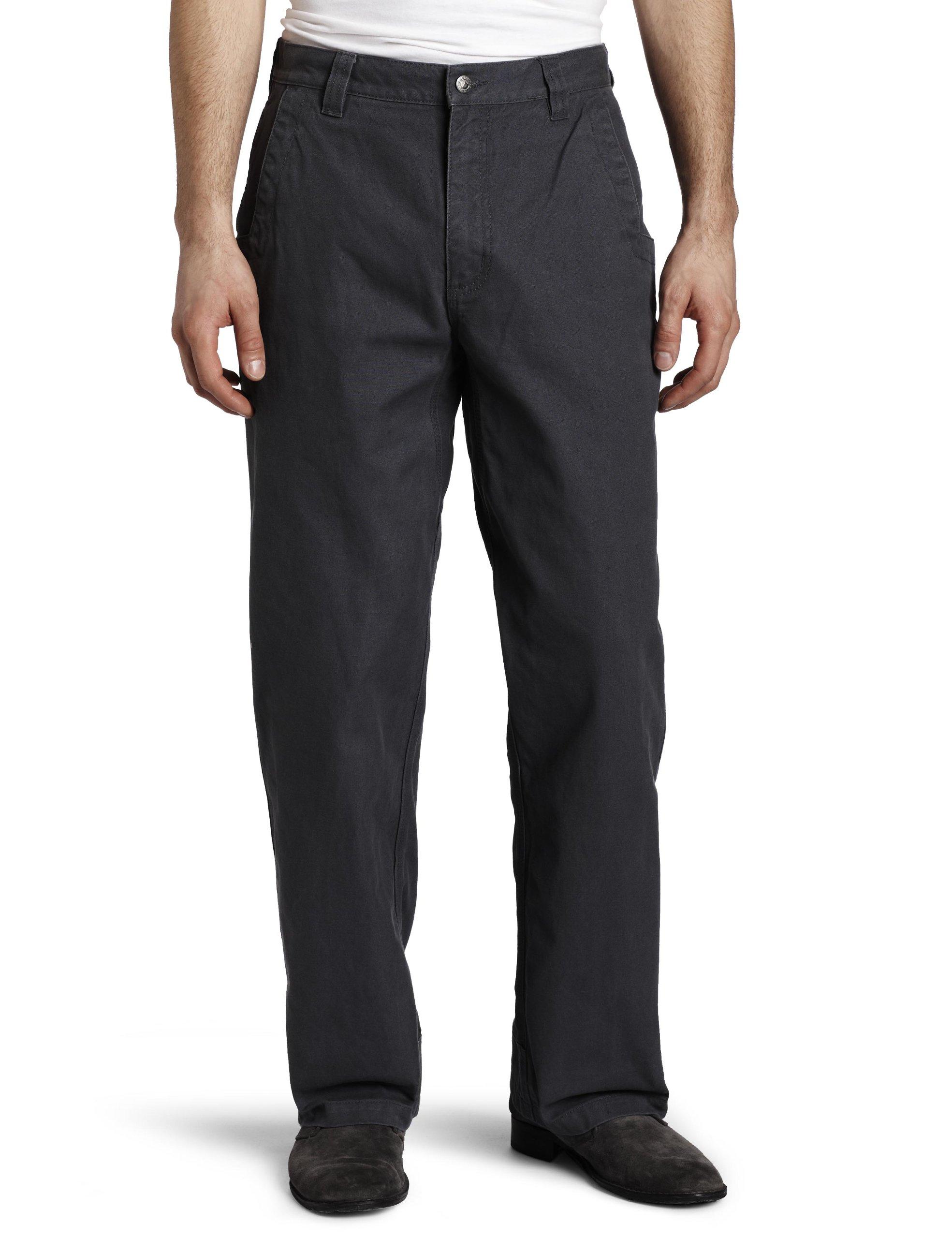 Mountain Khakis Men's Original Mountain Pant Relaxed Fit Granite 28W 32L