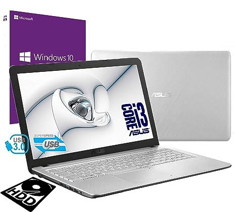 Notebook Asus Vivobook Silver portátil PC Display de 15,6 pulgadas ...