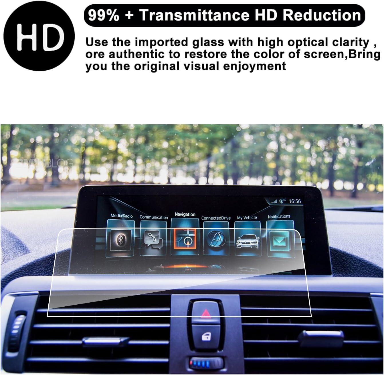 RUIYA Tempered Glass Screen Protector for Navigation System iDrive NBT of (2012 2017)BMW 3 Series GT M3 F30|F31|F34 ,BMW (2013 2017) 4 Series M4