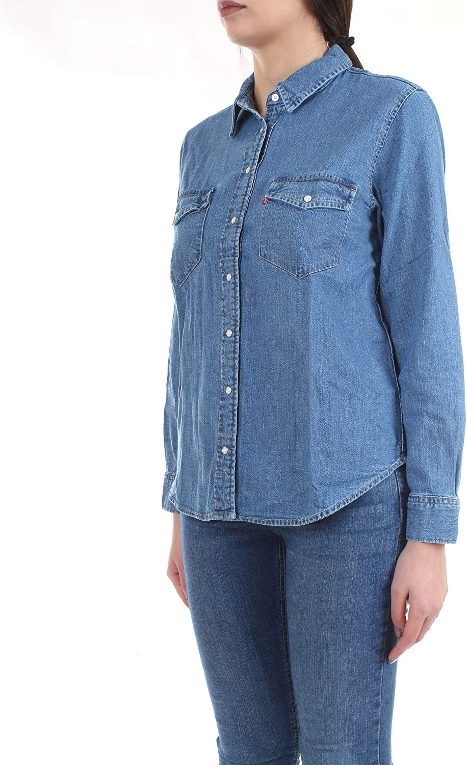 Levi's Women's Essential Western Blouse Going Steady (3)