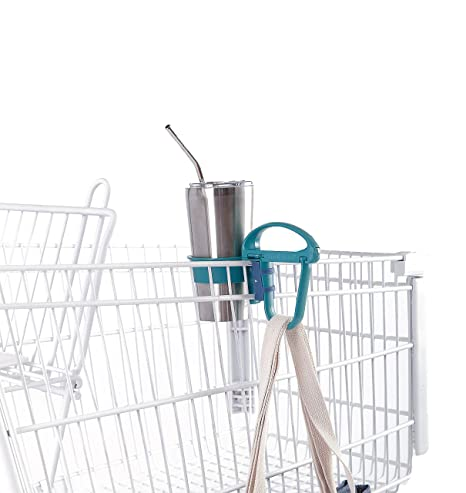 A Multi-Functional Eco-Friendly Tool That Makes Shopping With Reusable Bags  Easy! An All-In-One Device: Grocery Cart Tool, Bag Handle, Drink Holder,