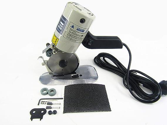 KUNHEWUHUA - Cortador eléctrico de tela (90 mm, 220 V): Amazon.es: Bricolaje y herramientas