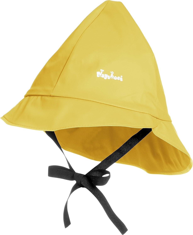 wind und wasserdichte Unisex-M/ütze f/ür Jungen und M/ädchen mit Baumwollfutter Playshoes Baby Regen-M/ütze