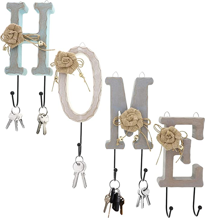 wood key hanger,key hanger,wood wall hanging,little wood house,small wood houses,wood block house,scrap wood house,wood key wall hanger,
