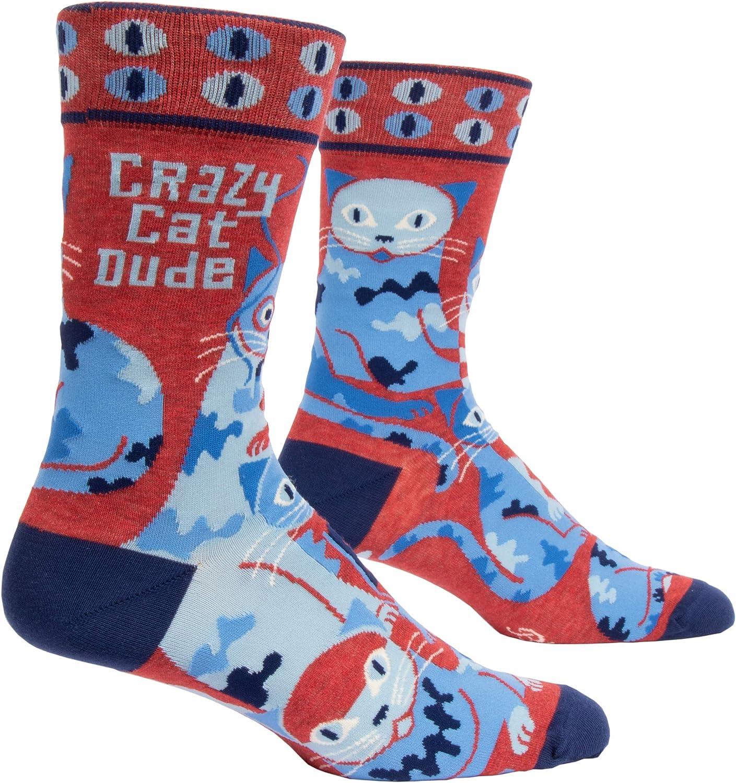 Blue Q Mens Novelty Socks fits mens shoe size 7-12
