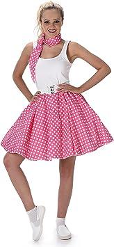 Generique - Disfraz años 50 Rosa Mujer M: Amazon.es: Juguetes y ...