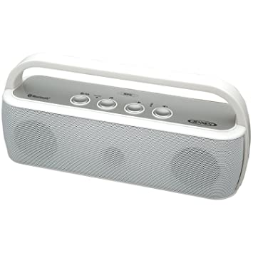 Jensen SMPS 627 W Portable Bluetooth Wireless Stereo Rechargeable Speaker