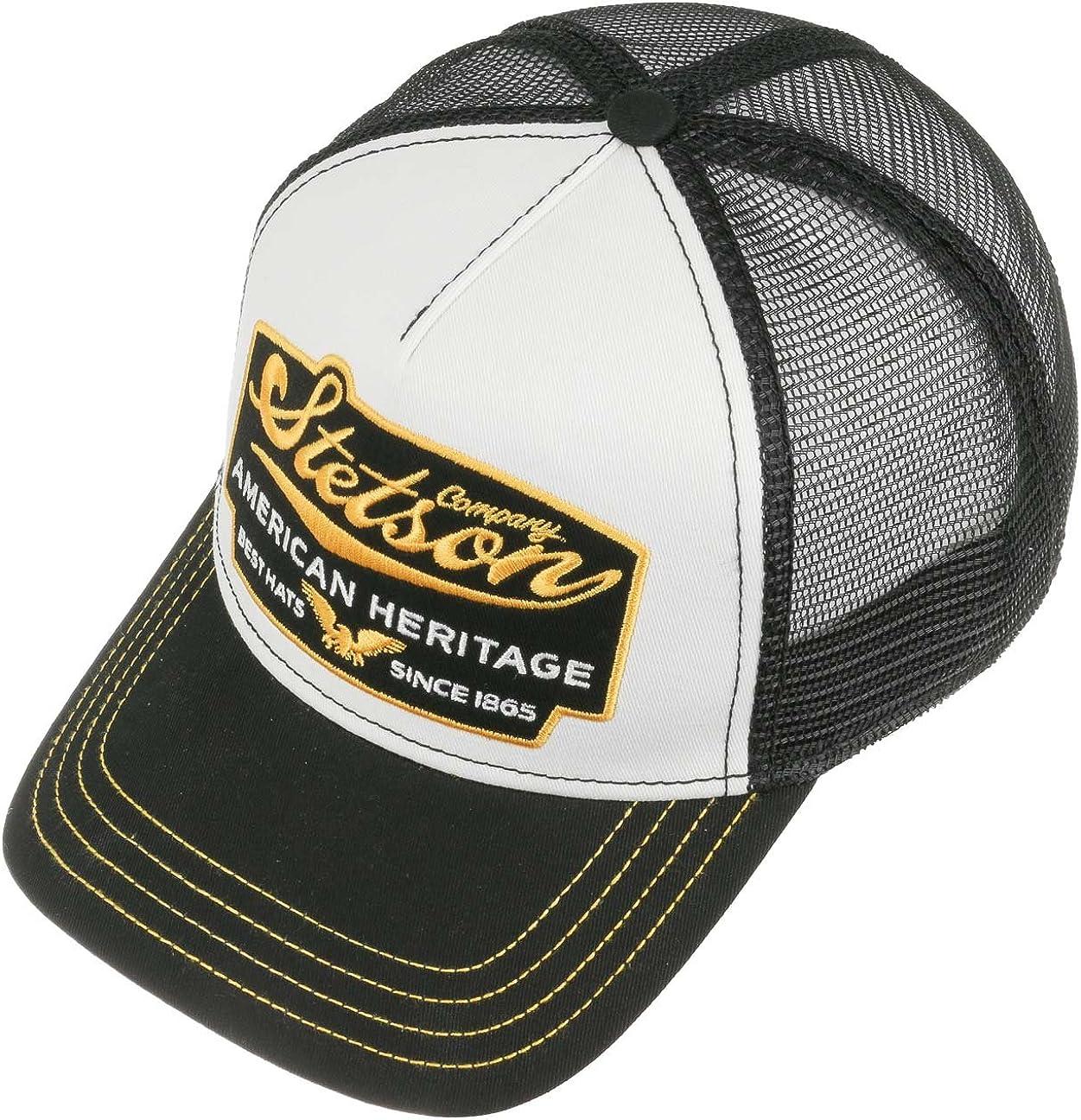 Stetson Trucker Mesh Cap Net Baseball Cap Snapback Summer Hat 7751103 New