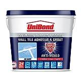 UniBond Fugenmörtel, Anti-Schimmel, 3-facher Schutz, 2,5l, Weiß