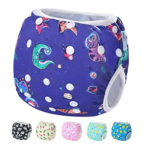 f378f8024018 InnoBeta Pañal de Natación, Bañador Pañal reutilizables para Bebé, pañales  tela lavable para niños