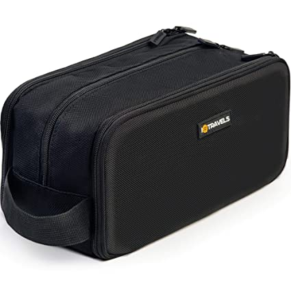 8c418d7c6ff6f Dopp Kit (12 Inches) 3 Compartments + Waterproof Bag – Easy Organization  Travel Toiletry Bag for Men or Women – Excellent Portable Shaving Bag &  Toiletries ...