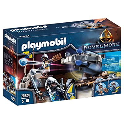 PLAYMOBIL Novelmore Water Ballista with Knights Playset: Toys & Games