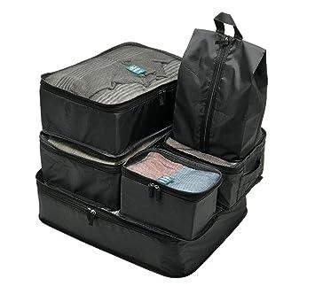 Amazon.com: Organizador para maleta 6 piezas bolsa de ...