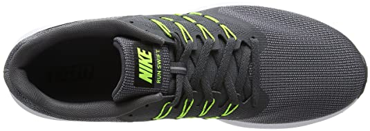 Nike Run Swift, Zapatillas de Running para Hombre, (Cool Grey/Black-Volt-White), 45.5 EU: Amazon.es: Zapatos y complementos