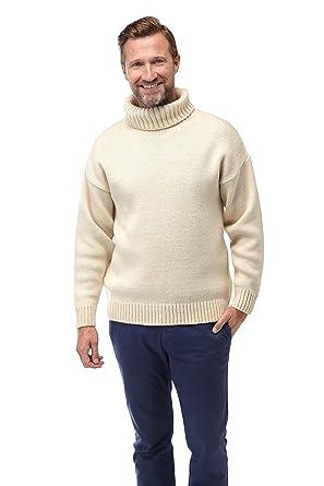 exquisite design so cheap outlet boutique Montgomery Pull Homme 100% Laine Mérinos Crème