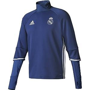 adidas Real Madrid CF TRG Sudadera, Hombre, Morado/Blanco, M ...