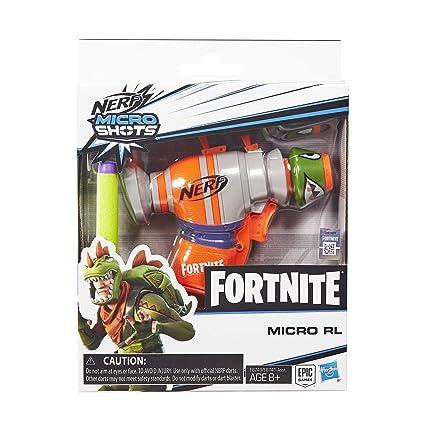 Amazon.com: NERF Fortnite RL MicroShots - Dardo de juguete y ...