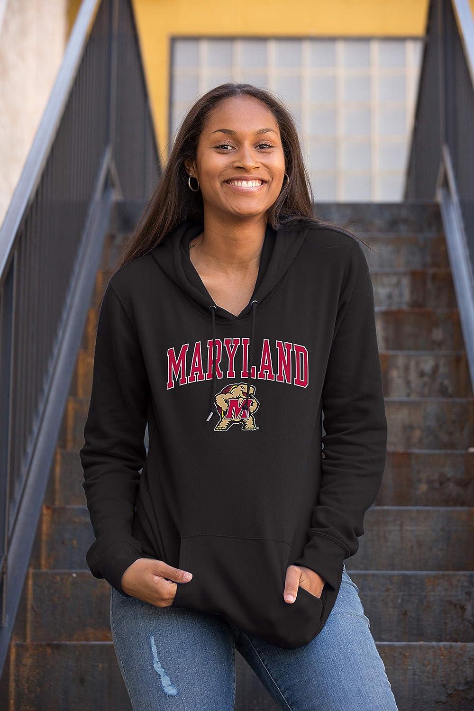 NCAA Mens Hoodie Sweatshirt Black Arch