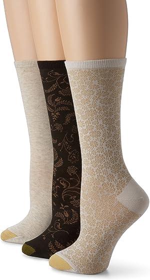 Gold Toe Women's Fashion Pack D
