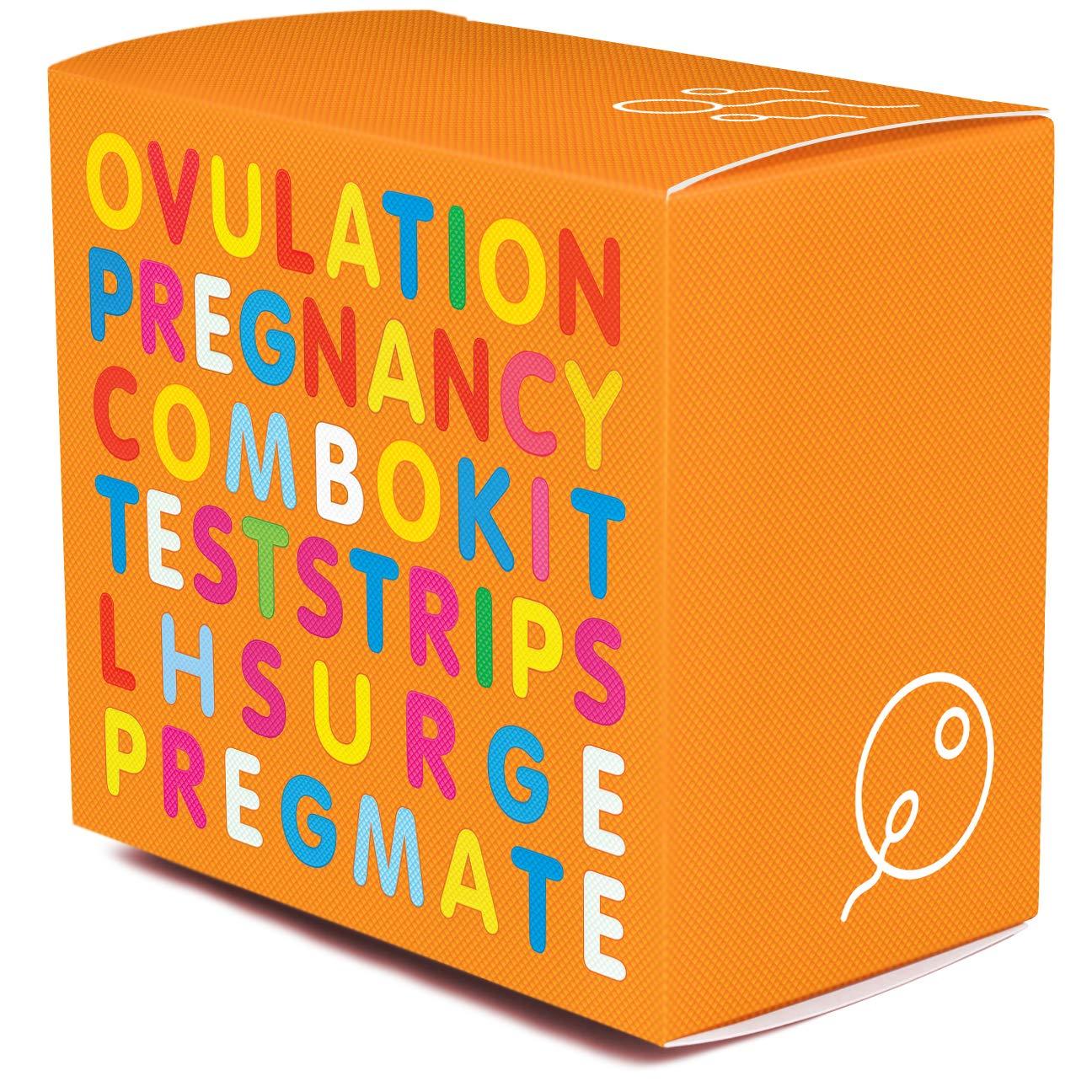 PREGMATE 50 Ovulation and 20 Pregnancy Test Strips Predictor Kit (50 LH + 20 HCG)