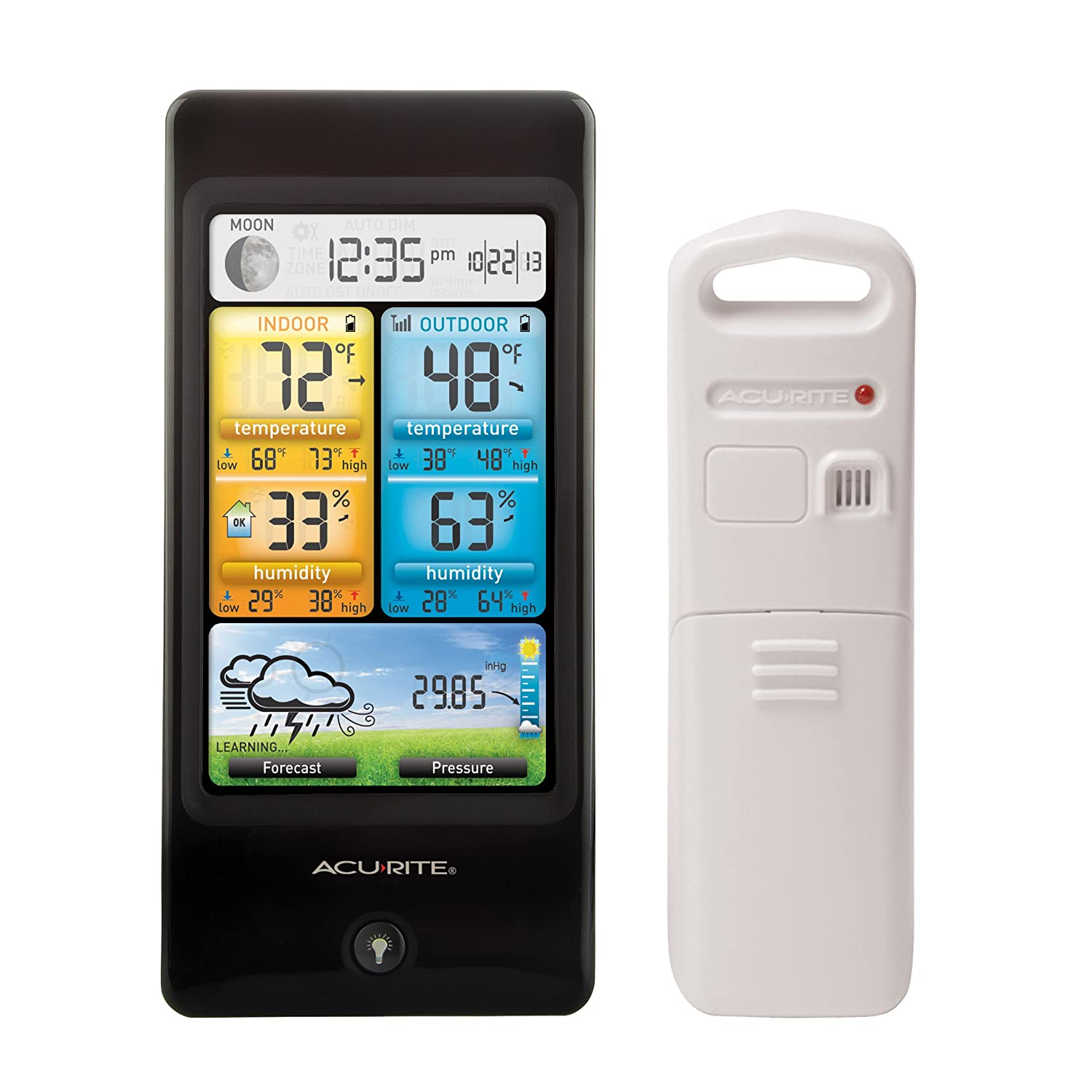 AcuRite 02016 Color Weather Station with Forecast/Temperature/Humidity