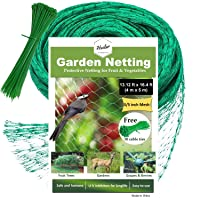 HSelar Best Bird Netting - Protect Plants and Fruit Trees from Birds and Wildlife...